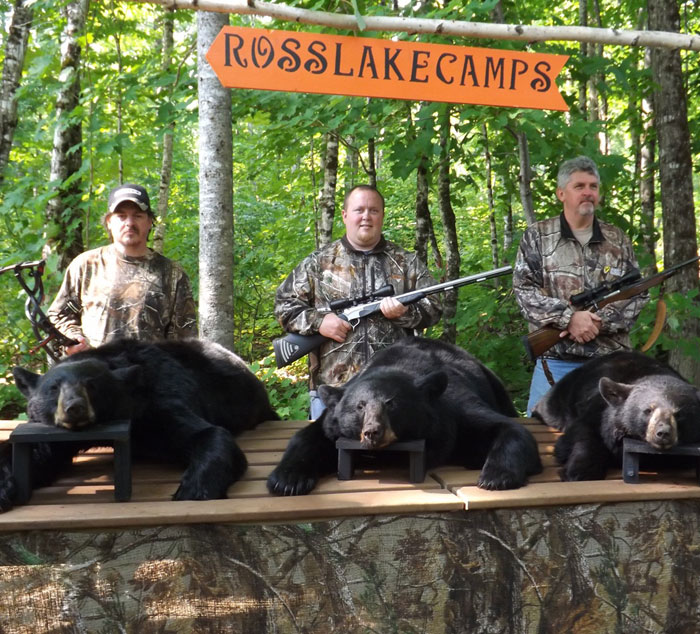 Ross Lake Camps Maine Bear Hunting